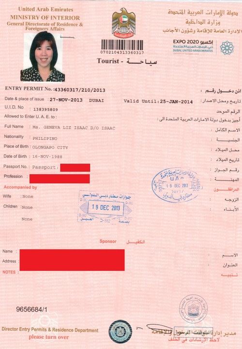UAE expat alert Immigration consultant not really needed